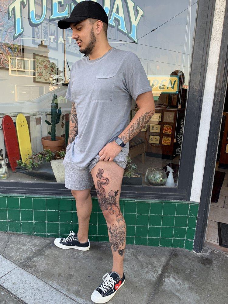 Tuesday Tattoo: 4025 Judah St, San Francisco, CA