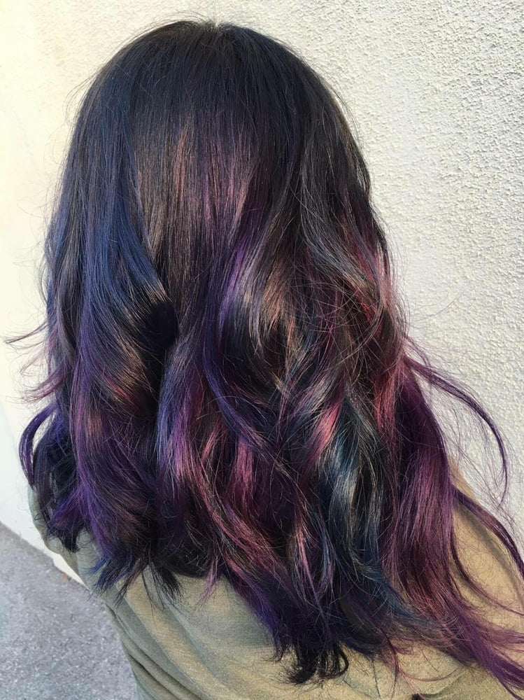 Oil Slick Hair Color By Sammi Situ Yelp