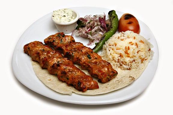 Chicken adana kebab yelp for Divan kebab carte