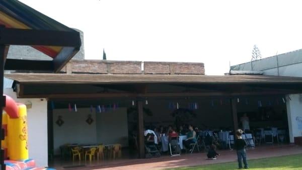 Sal n de fiestas infantiles paradise venues event - Ventiladores techo infantiles ...