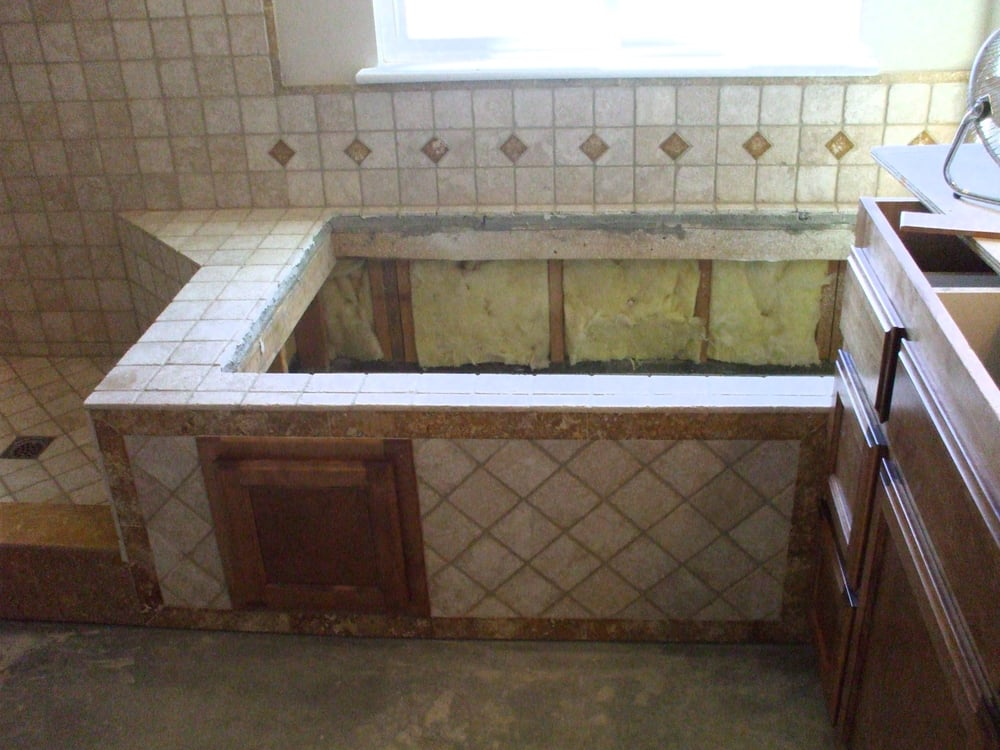 Tub Deck W Access Door For Jacuzzi Tub Yelp