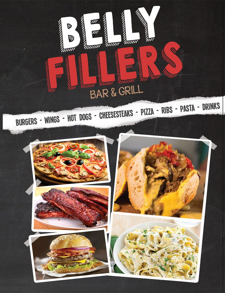 Belly Fillers Bar & Grill: 319 E Central Ave, Alpha, NJ