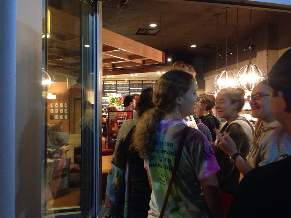 Social Spots from Caribou Coffee