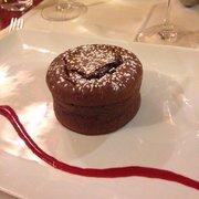 Le Grand Café des Capucines - Paris, France. Moelleux au chocolat
