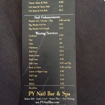 Photo Of Py Nail Bar And Spa Baltimore Md United States Price