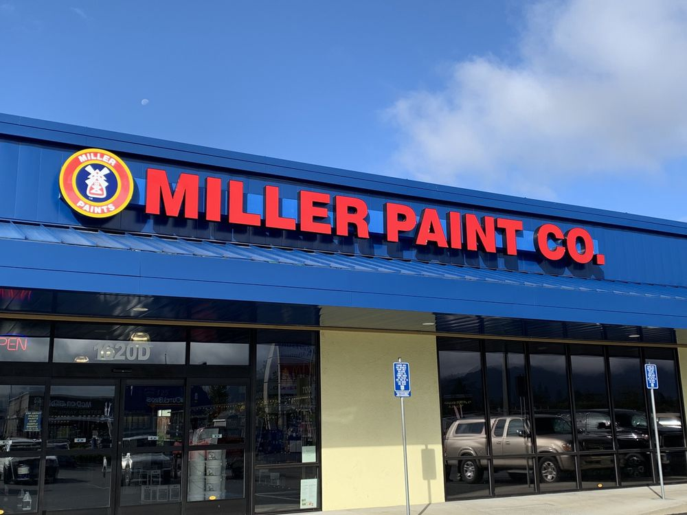 Miller Paint: 1620 Allen Creek Rd, Grants Pass, OR