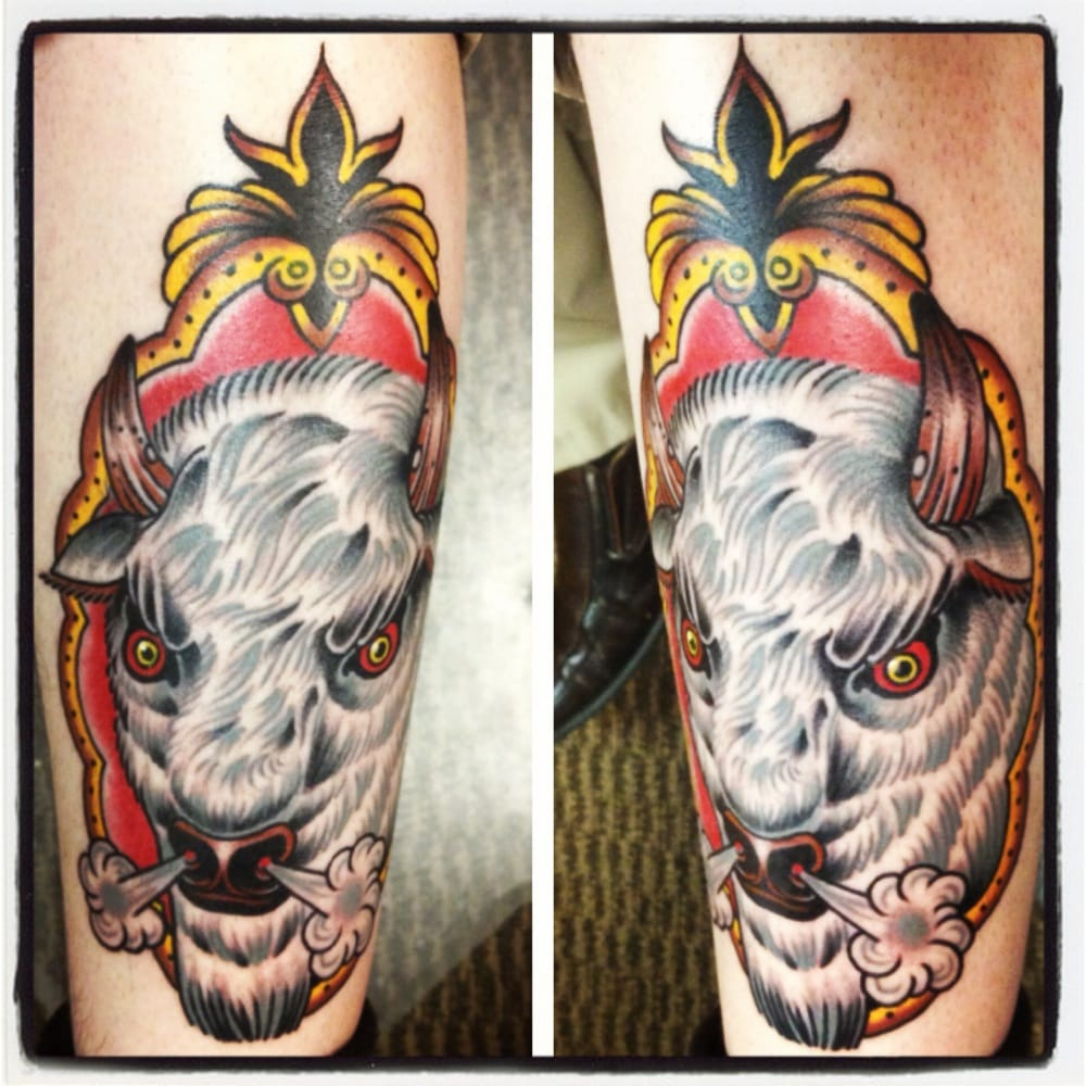 My White Buffalo piece done by Jack Mauk. - Yelp