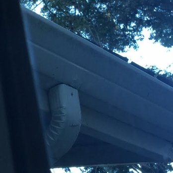 Photo Of Sunshine Gutters   Berkeley, CA, United States. Gutter Guard Not  Properly