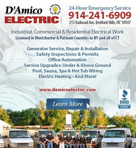 D'Amico Electric: 213 Railroad Ave, Bedford Hills, NY