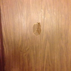 Photo Of Econo Lodge - Kelso WA United States. Punched Hole In Door & Kelso Doors Review u0026 Kelso Creek Maintenance pezcame.com