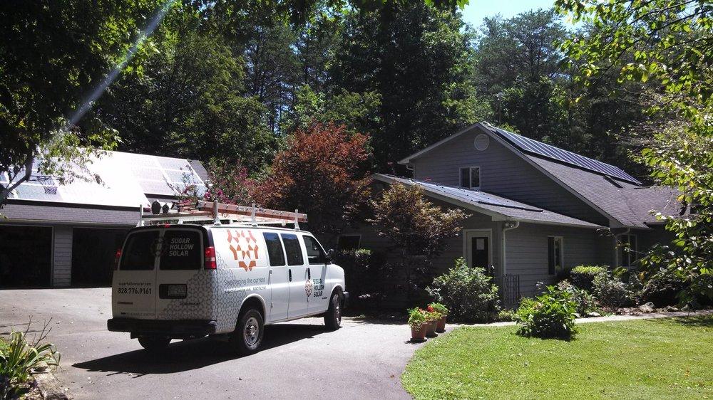 Sugar Hollow Solar: 9 Sugar Hollow Ln, Fairview, NC