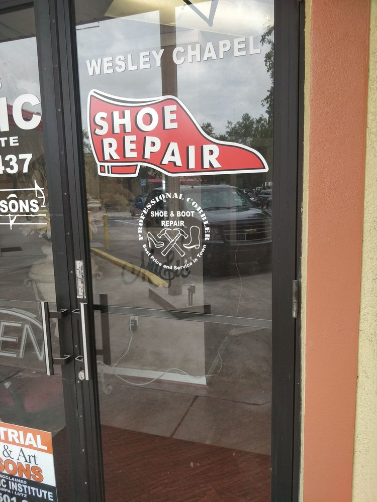 Wesley Chapel Shoe Repair: 1914 Oak Grove Blvd, Lutz, FL