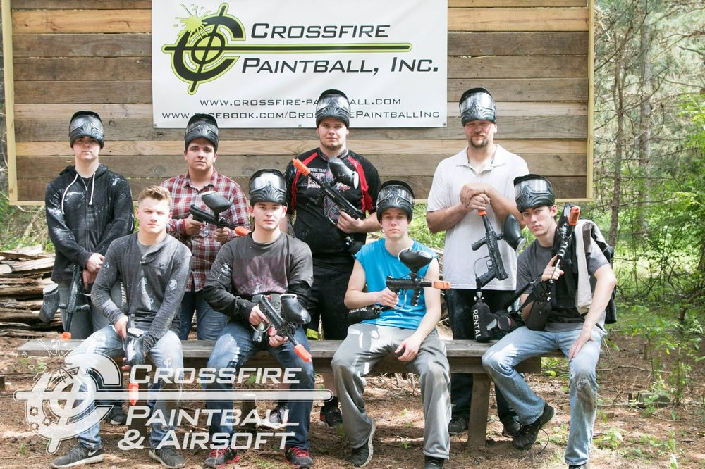 Crossfire Paintball: 1601 195th St E, Cleatrwater, MN