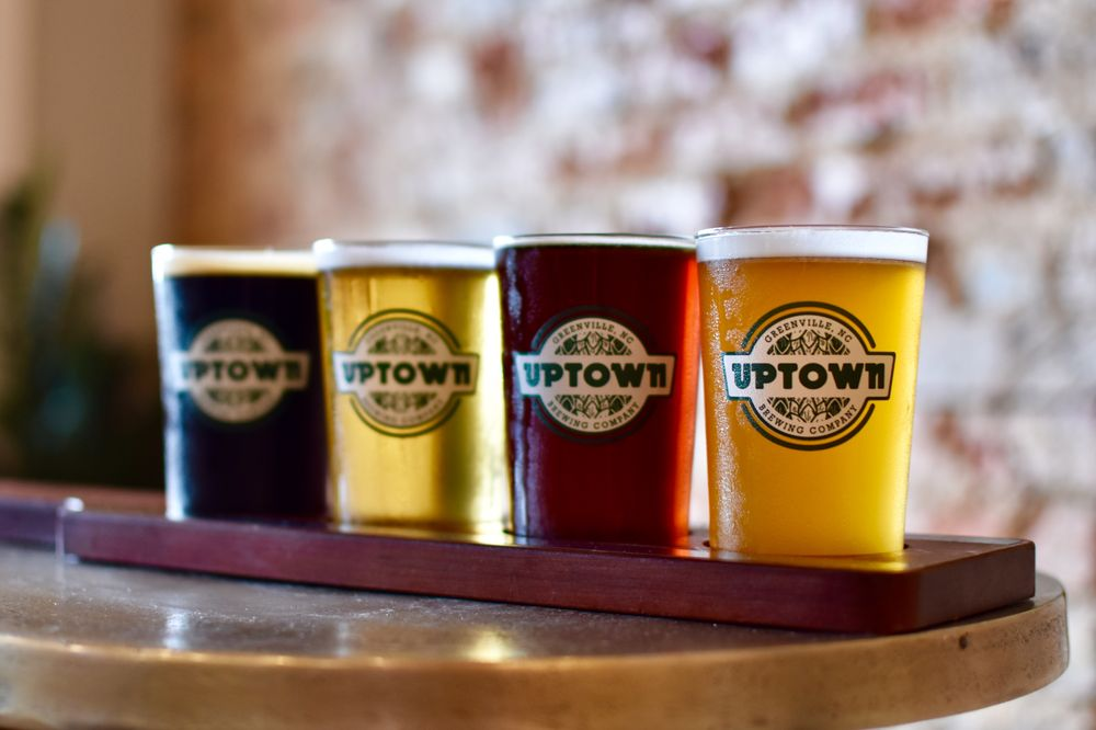 Uptown Brewing Company: 418 Evans St, Greenville, NC