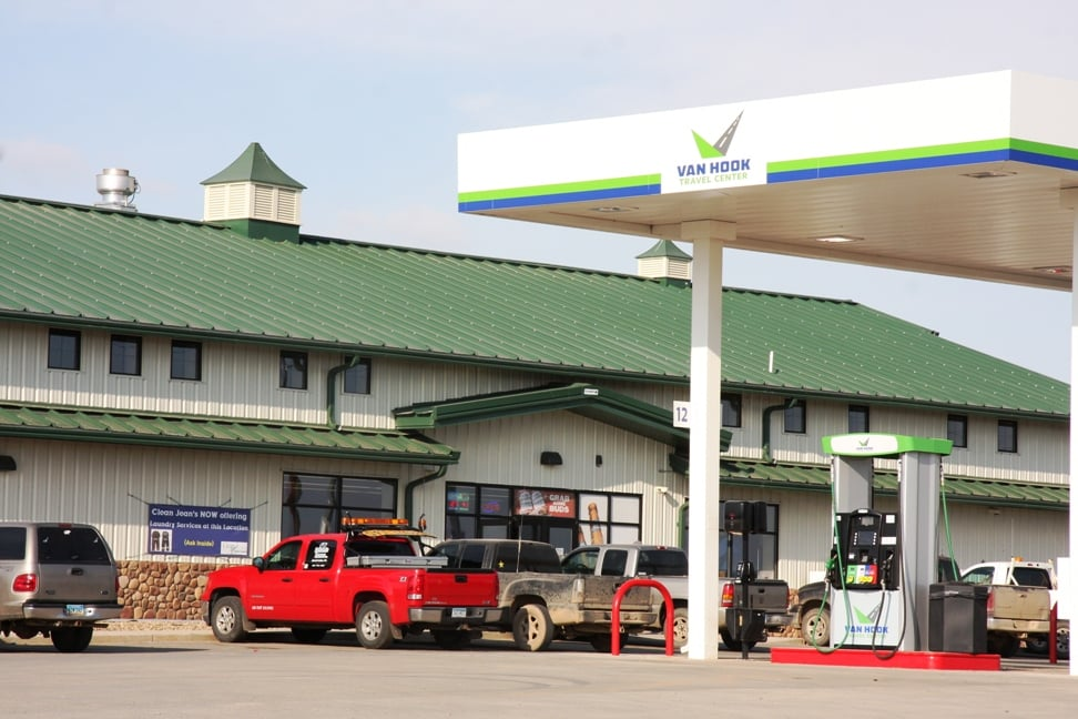 Van Hook Travel Center: 8258 39th St NW, New Town, ND