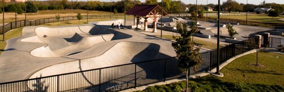 The Edge Skate Park: 201 E St Mary Dr, Allen, TX