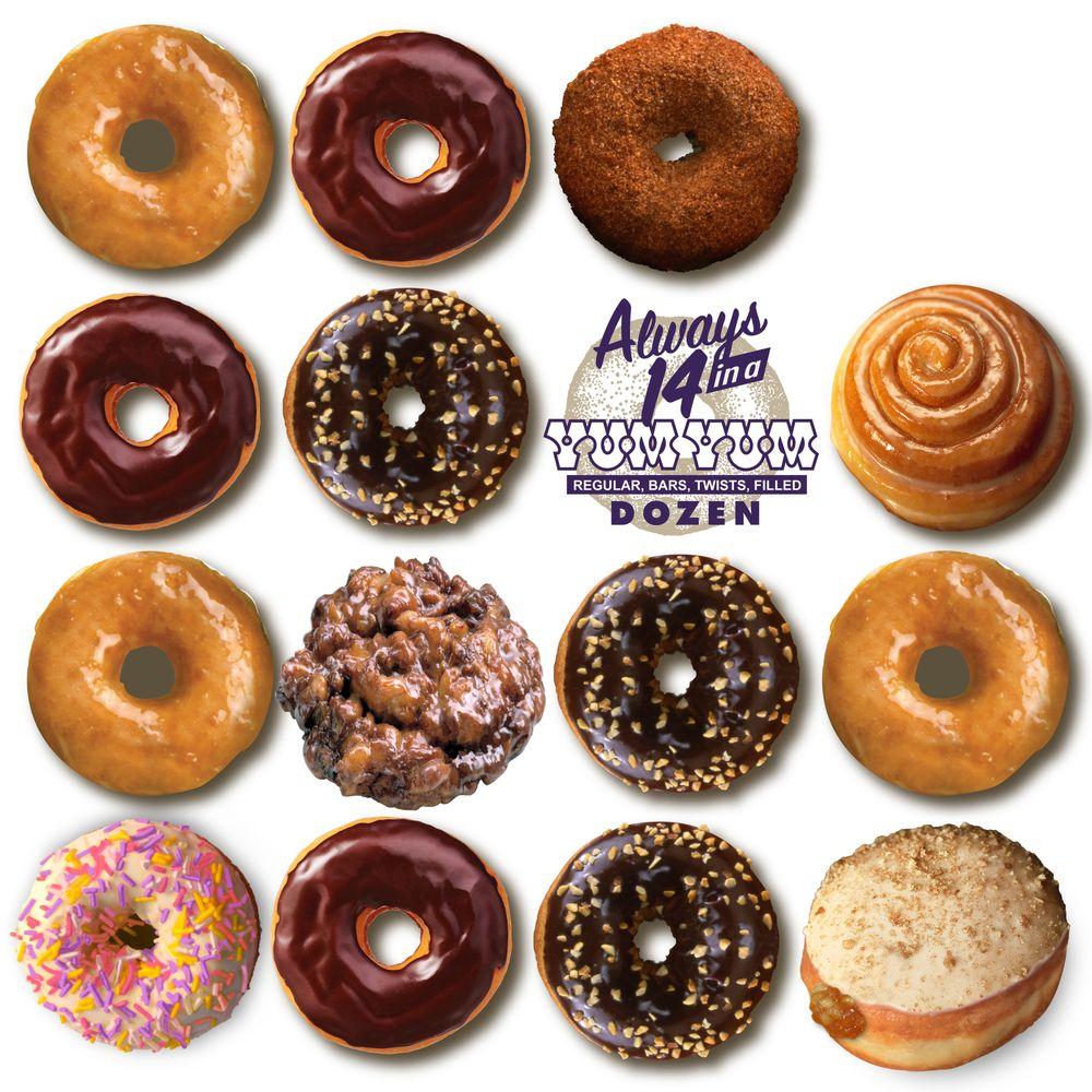 Social Spots from Yum Yum Donuts