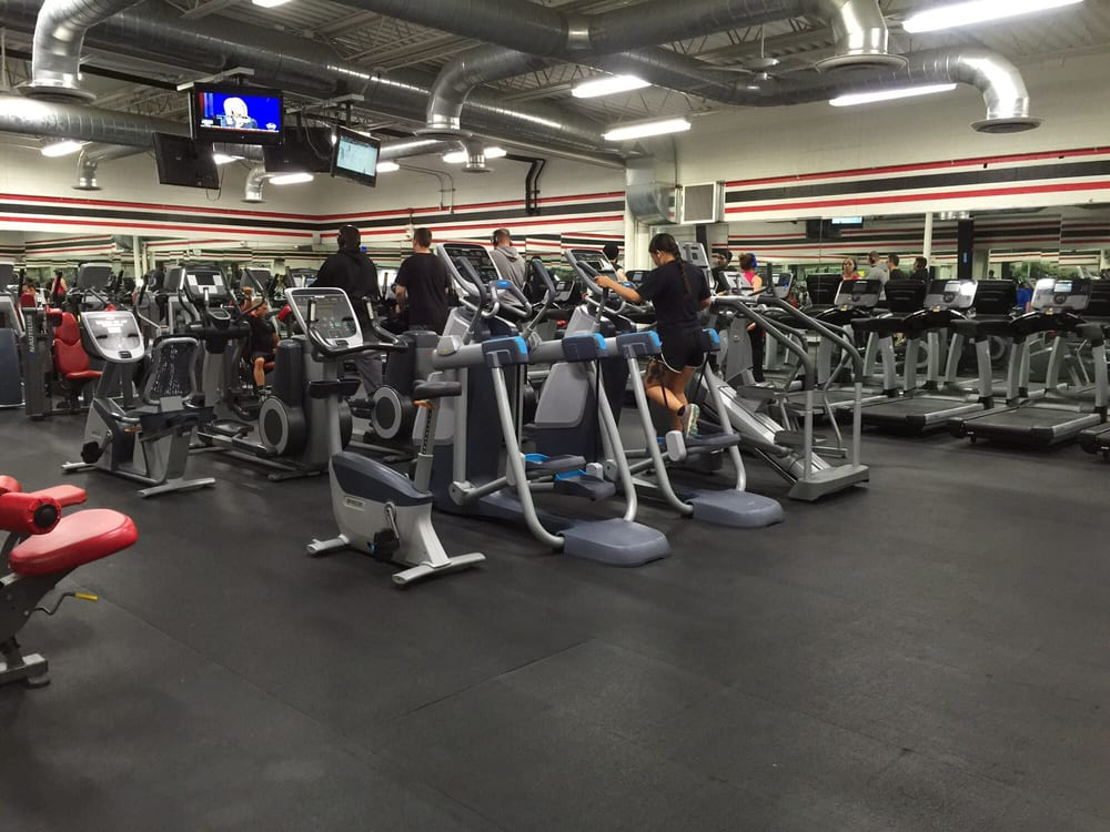 Cardio Plus Weight Machines Room Yelp