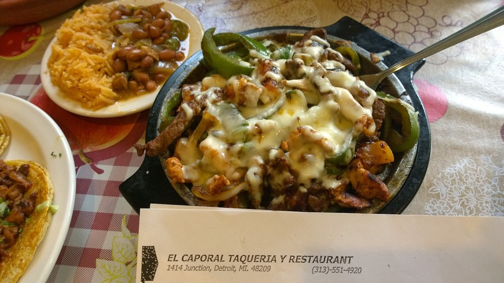 El Caporal Taqueria Y Restaurant: 1414 Junction St, Detroit, MI