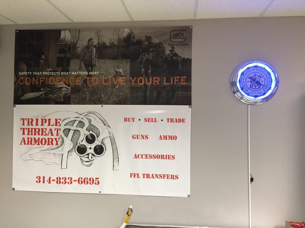 Triple Threat Armory: 9422 Gravois Rd, Saint Louis, MO