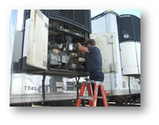 Reefer Unit Trailer Repair Thermo King Carrier Unit