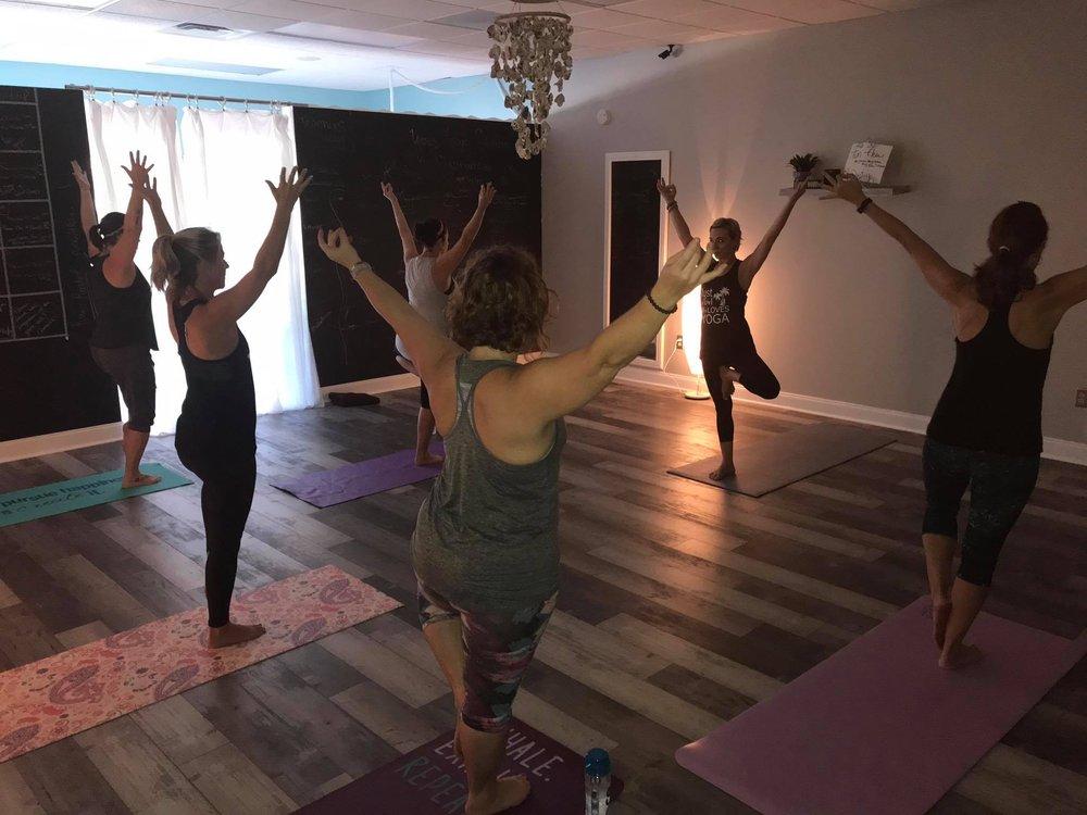 Salty Souls Yoga: 7925 38th Ave N, St Petersburg, FL