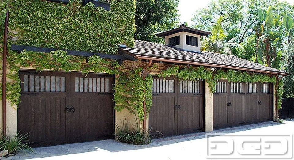 Spanish Style Garage Doors For Historical Santa Barbara
