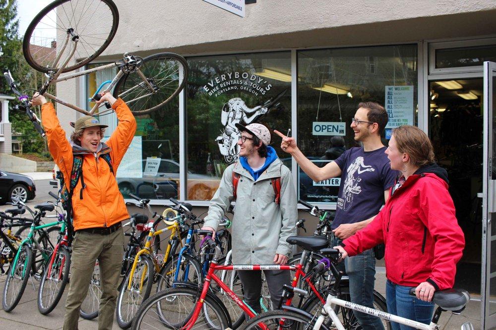 Everybody's Bike Rentals & Tours