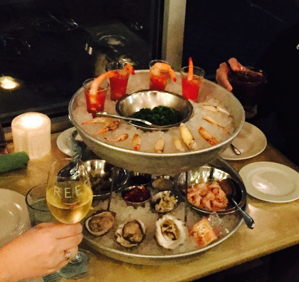 3rd Bar Seafood Tower Appetizer