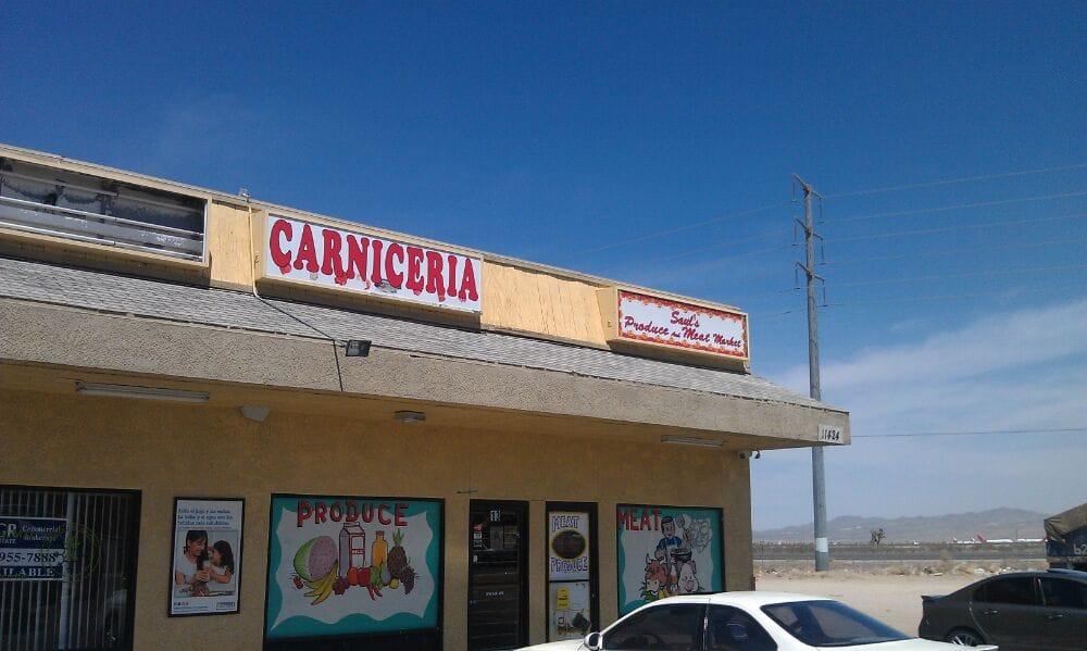 Saul's Produce And Meat Market: 11424 Chamberlaine Way, Adelanto, CA