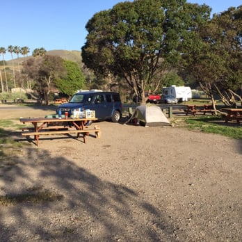 Photo Of Refugio State Beach Campground Goleta Ca United States