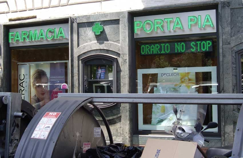 Farmacia porta pia farmacie via nomentana 25 roma - Farmacia porta pia ...