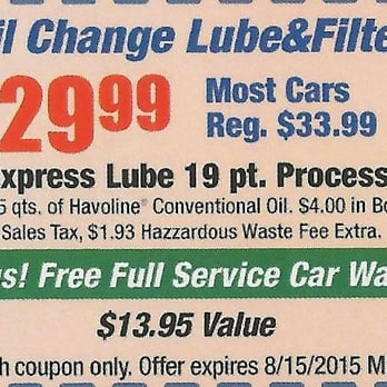 Mission Express Lube - 16 Photos & 33 Reviews - Oil Change