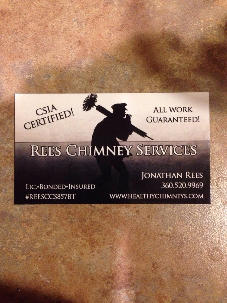 Rees Chimney Services: Centralia, WA