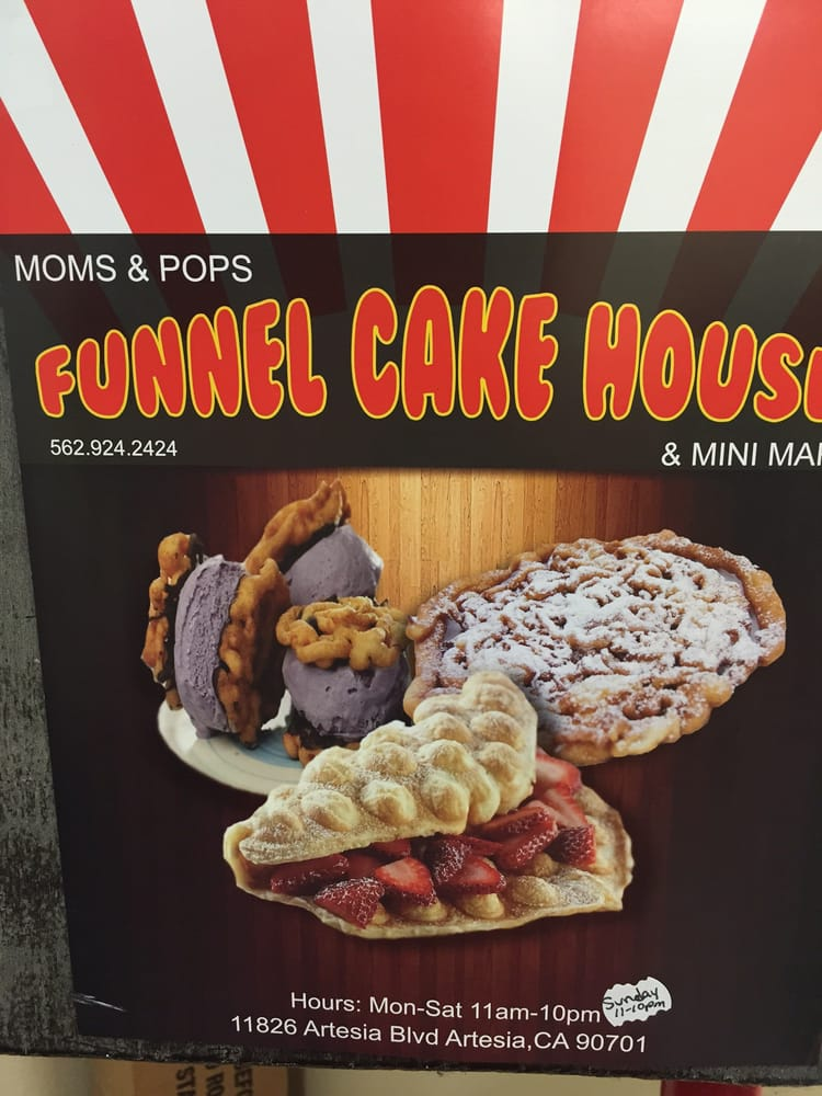 Funnel Cake House Artesia : Tried this newly opened Funnel cake house - Yelp
