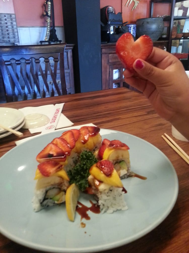 My daughter loves the happy together roll yelp for Aiyara thai cuisine temecula