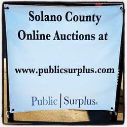 Solano County Surplus - Public Services & Government - 2543