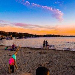 Photo Of Pewaukee Lake Beach Wi United States
