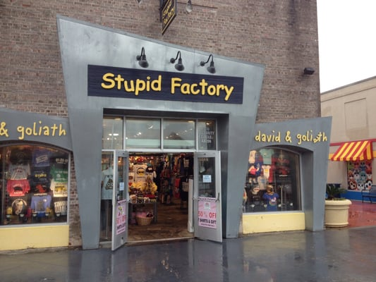 The Stupid Factory 1210 Celebrity Cir Myrtle Beach Sc Outlets Mapquest