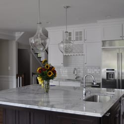 Photo Of Granite Works Countertops   Rockville, MD, United States.  Arabescato Romano Quartzite