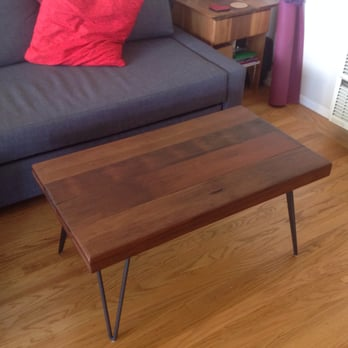 Photo Of Ambrose Woodworks   Oakland, CA, United States. Reclaimed Redwood  Table On