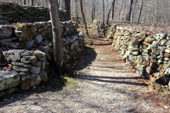 Wichahpi Commemorative Stone Wall: Natchez Trace Pkwy, Florence, AL