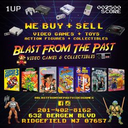 Blast From The Past Video Games & Collectibles - CLOSED - Toy Stores