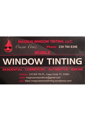 window tinting cape coral mangus window tinting 310 nw 7th pl cape coral fl mapquest