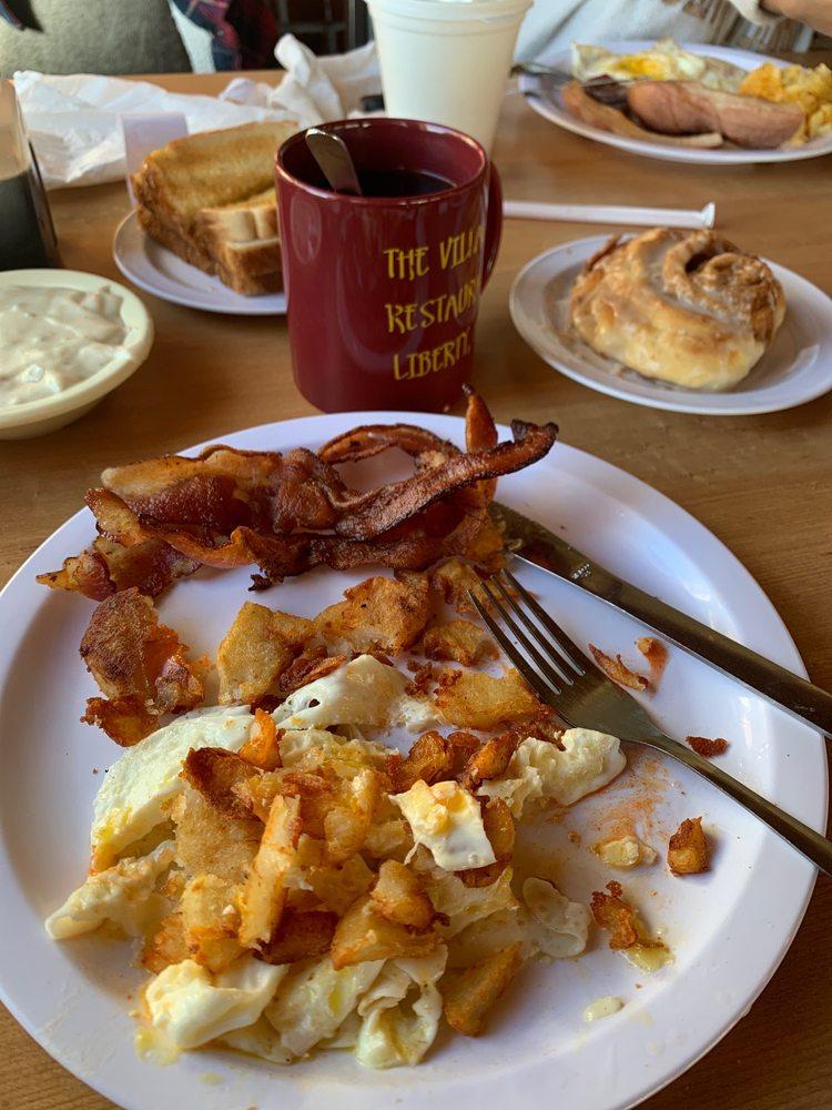 Village Restaurant: 115 N Wallace Wilkinson Blvd, Liberty, KY