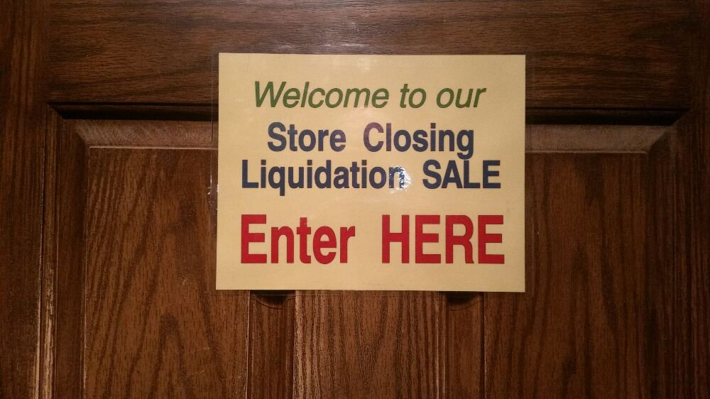 Our Retirement Store Closing Total Liquidation Sale Is On Yelp