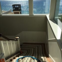 Photo of Berber Carpet Cleaning - Oxnard, CA, United States. Cleaning some stairs