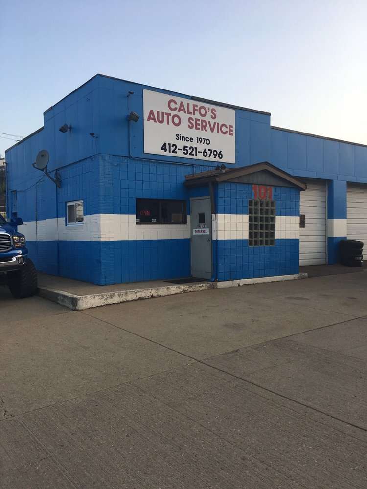 Calfo's Auto Service: 101 Greenfield Ave, Pittsburgh, PA