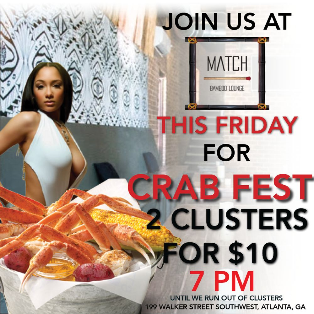 Match Bamboo Lounge: 199 Walker St SW, Atlanta, GA