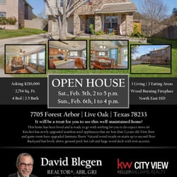 David E Blegen Keller Williams City View Real Estate Agents 10999 Ih 10 W San Antonio Tx Phone Number Yelp